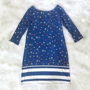 New Leota Ahoy sheath dress size Medium.